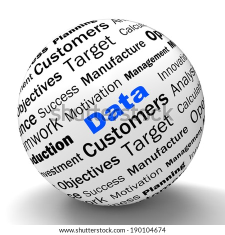 Data Sphere Definition Meaning Digital Information Or Database