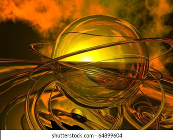 Dawn of Destruction - Mystical Nostradamus Crystal Ball