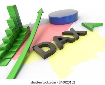 Dax Reflation 3D Concept