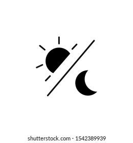 Day and Night icon illustratsion