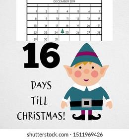 Days Until Christmas 2019.Until Christmas Images Stock Photos Vectors Shutterstock