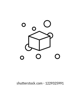 decentralized, block chain icon. Element of block chain icon for mobile concept and web apps. Thin line decentralized, block chain icon can be used for web and mobile
