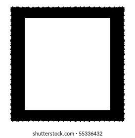 deckle edged picture frame, large size, square,free copy space