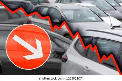 decline in sales in the automotive industry