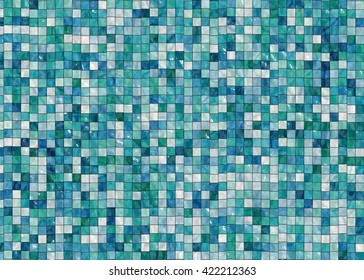 Decorative ceramic tiles texture background (Tiles seamless, High-resolution 3D CG rendering illustration)