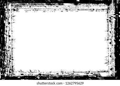 Decorative Darkroom Photo Edge / Overlay for Landscape Photos