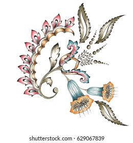Decorative Flower Motif