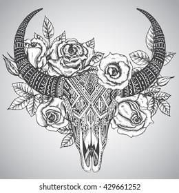 Deer Skull Images Stock Photos Vectors Shutterstock