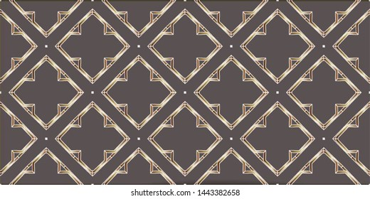 Decorative seamless pattern. Endless pattern for Wallpaper, textile, packaging, printing, cloth. Abstract texture. Traditional ethnic ornament for your design. Oriental style.