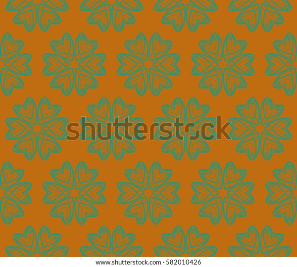 Decorative wallpaper design in shape.Raster copy abstract background.