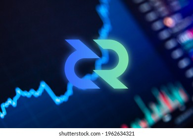 Decred Cryptocurrency. DCR coin growth chart on the exchange, chart