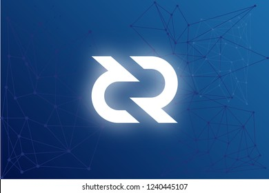 Decred DCR cryptocurrency network illustration