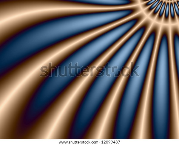 Deep blue and peach abstract background (looks like part of a flower)