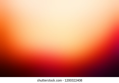 Deep red orange maroon ombre down pattern. Flashy vibrant blurred background. Rich abstract texture. Vibrant defocus backdrop.