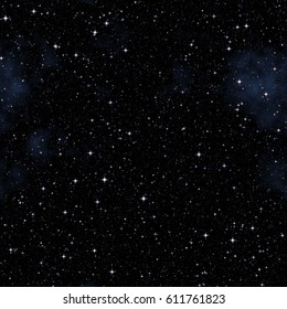 Deep space with many stars