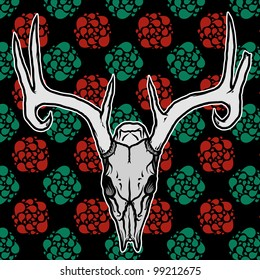 Deer Skull Tattoo Images Stock Photos Vectors Shutterstock