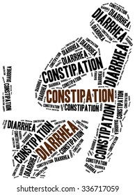 Defecation problems - diarrhea and constipation.