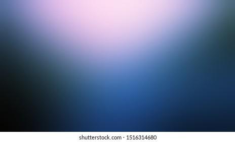 Defocus rosy light top on dark blue soft background.