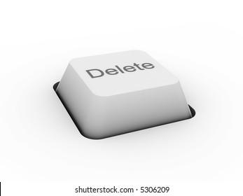 Delete - keyboard button