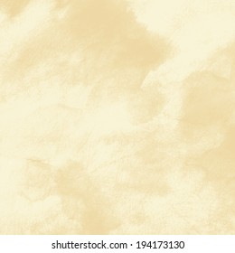 delicate sepia background with paint stains watercolor texture