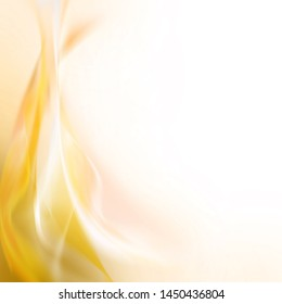 Delicate soft gold background. Soft illustration,