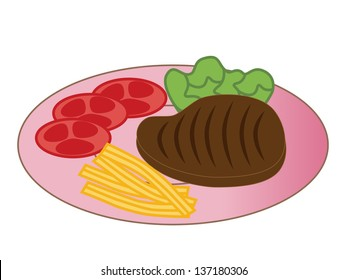 Dinner Plate Clipart Images Stock Photos Vectors Shutterstock