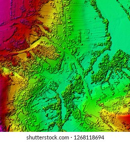DEM- Digital elevation model