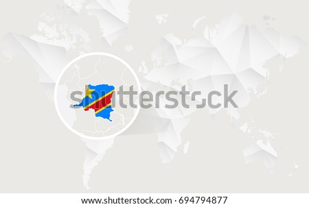 Royalty Free Stock Illustration Of Democratic Republic Congo Map