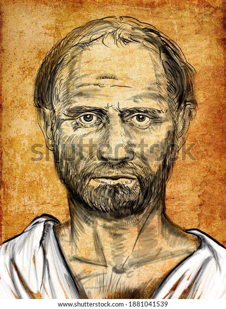 Demosthène était un homme d'État grec et orateur de l'Athènes antique.
