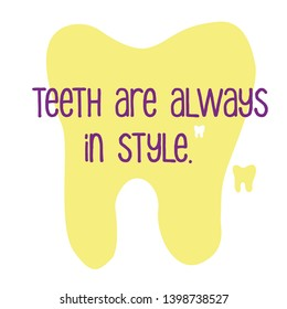 Dental Quotes Images, Stock Photos & Vectors | Shutterstock