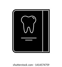 Dentist reception days schedule icon. Element of Dantist for mobile concept and web apps icon. Glyph, flat icon for website design and development, app development