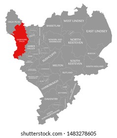 Map Of England Derbyshire.Derbyshire County Images Stock Photos Vectors Shutterstock