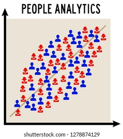 Describing the population by using a statistical model