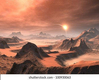 Desert Dawn on Distant World