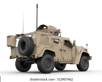 Desert light armor tactical all terrain military vehicle
