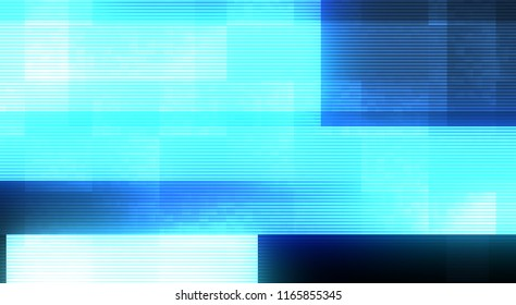 Design of Abstract Digital Glitch Error Video Damage background