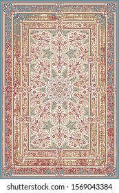 Design for carpet and rug