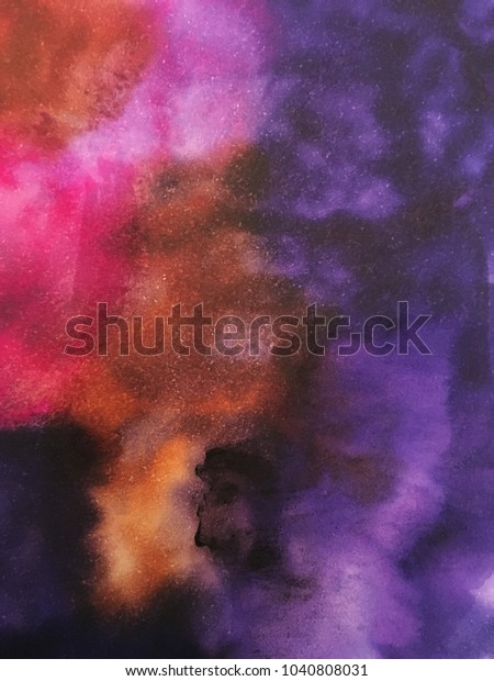 Design Created Markers Rubbing Alcohol Stock Illustration