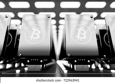 design element. 3D illustration. rendering. usb asic bitcoin miners rig. cryptocurrency mining farm equipment. mining bitcoin, litecoin, etherium, dash, monero and other cryptocurrencies