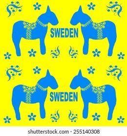 design elements of symbols of Sweden
