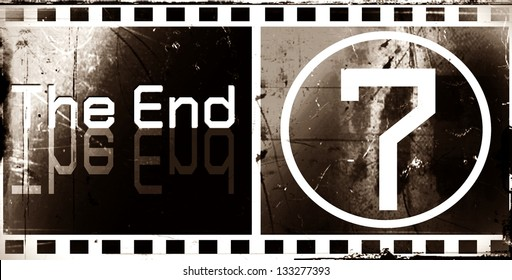 design the ending Movie screen images