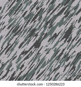 Design fabric- material camouflage pattern. Disguise 