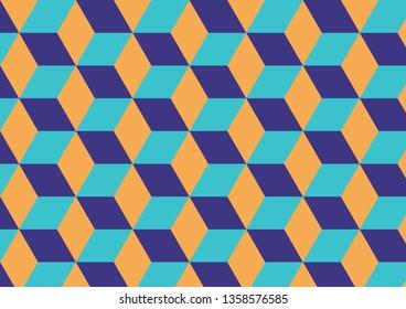 Design isometric pattern