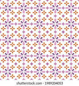Design for printing template. Floral seamless pattern for printing work. Seamless pattern for fabric or paper printing.