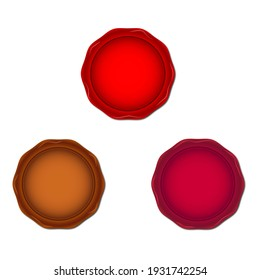Design wax stemp seal for your banner, letter.
