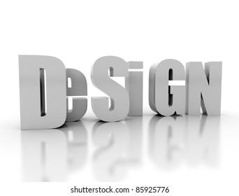 Design word in 3d