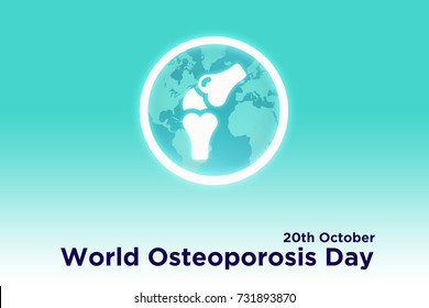 Design for World Osteoporosis Day 20th October