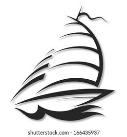 design yacht, the silhouette