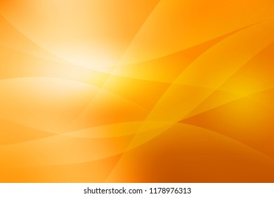 desinged warm orange abstract background