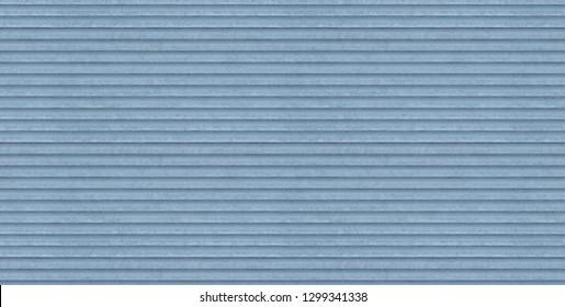Detail Texture of Roller Shutter Door (Flat Light) (3D Render)
